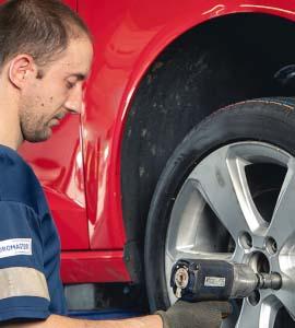 Euromaster,  promo sur les pneus et l'entretien auto